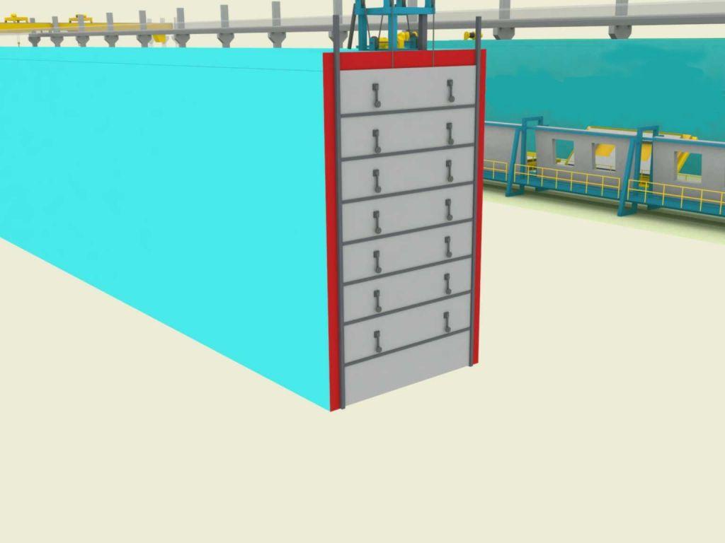 Пропарочная камера для блоков