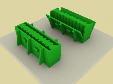 Установки и формы для вертикального формования лестничных маршей и площадок